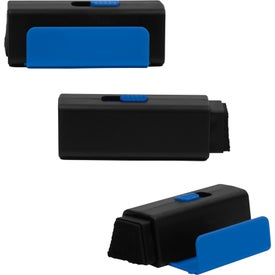 Mobile Phone Holder with Retractable Screen Cleaner for Your Company