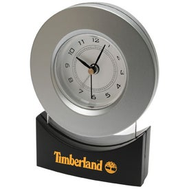Monogrammed Modern Design Clock