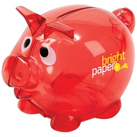 Moe The Piggy Bank Branded with Your Logo