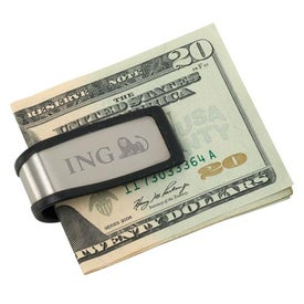 Stainless Steel Money Clip with Your Logo
