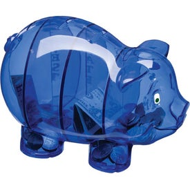 Money Savvy Pig Bank for Your Company