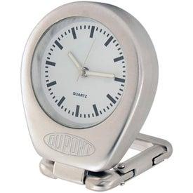 Customized Money Clip With Quartz Analog Clock