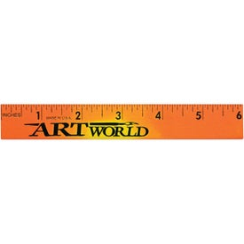Mood Wood Ruler Printed with Your Logo