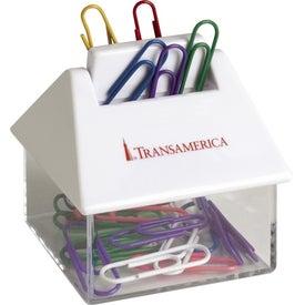 Mortgage Paper Clip Dispenser