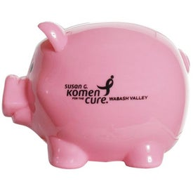 Mr. Piggy Bank Imprinted with Your Logo