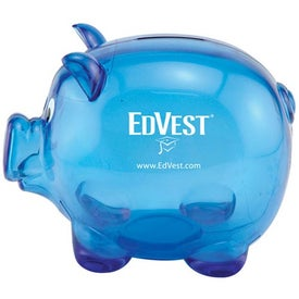 Mr. Piggy Bank with Your Logo
