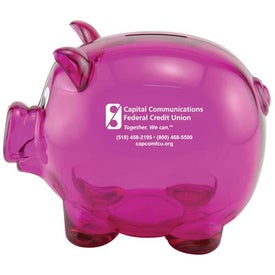 Mr. Piggy Bank for your School