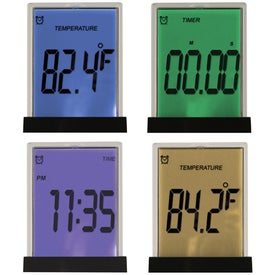 Multi Functional Touch Screen Desk Clock for Yo