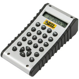 Multi Function Dual Display Calculator Branded with Your Logo