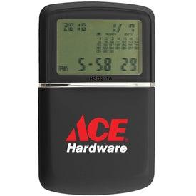 Promotional Multi Function Travel Alarm Clock Calculator