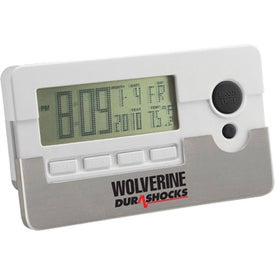 Multi Function Dot Matrix Digital Alarm Clock for Advertising