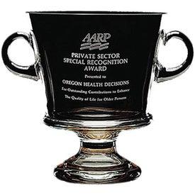 Nantucket Cup Award with Wood Base