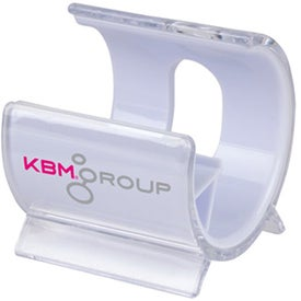 New Wave Media Phone Stand with Your Slogan