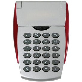 One Touch Calculator Imprinted with Your Logo