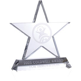 Optica Star on Base Award
