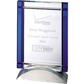 Optica Tablet Award with Metal Base