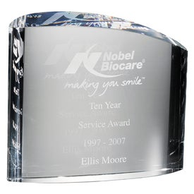 Orrefors Ice Block Large Award