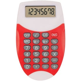 Oval Calculator with Your Logo