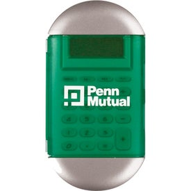 Oval Calculator with Cover with Your Logo