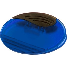 Promotional Oval Magnetic Fridge Office Clip