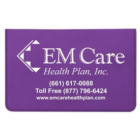 Oversized Card Holder with Your Slogan