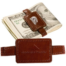 Logo Palace Leather Money Band
