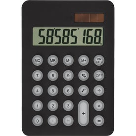 Palm Pal Solar Calculator Imprinted with Your Logo
