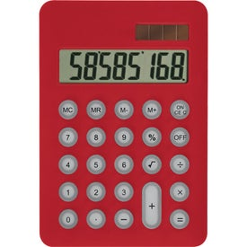 Imprinted Palm Pal Solar Calculator