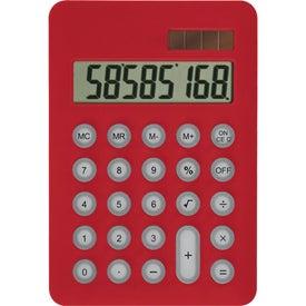 Imprinted Palm Pal Solar Calculator