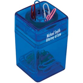 Paper Clip Dispenser Branded with Your Logo
