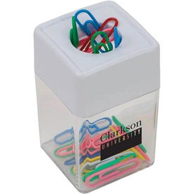 Paper Clip Dispenser for Advertising