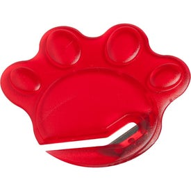 Personalized Paw Letter Slitter