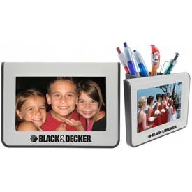 Pen Caddy Picture Frame for Customization