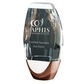 Penne I Oval Crystal Award