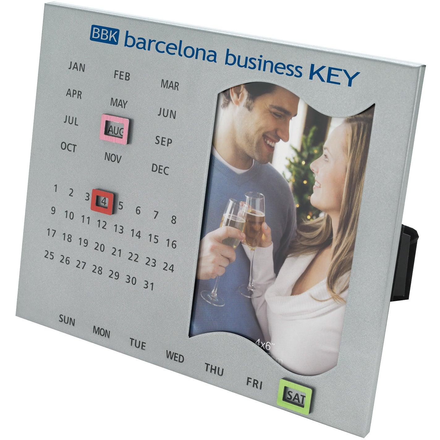 Promotional Perpetual Calendar Frames with Custom Logo for $4.74 Ea.