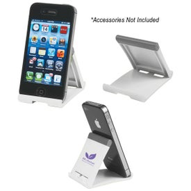 Phone and Tablet Stand with Your Slogan