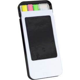 Phone Holder with Highlighters with Your Slogan