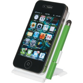 Phone Stand With Stylus Pen with Your Slogan