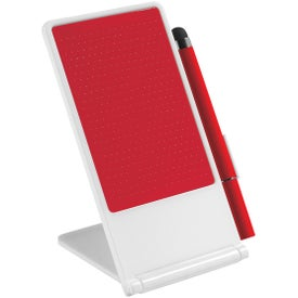 Company Phone Stand With Stylus Pen