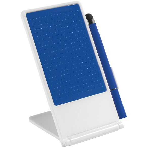 Phone Stand With Stylus Pen