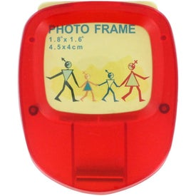 Imprinted Photo Clip