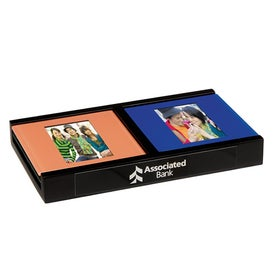 Photo Coaster Set Imprinted with Your Logo