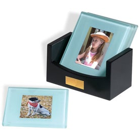 "Photo Coasters Set (3.875"" x 4.375"" x 0.25"")"
