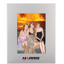 Metal Photo Frame with Your Slogan