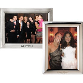 Monogrammed Metal Photo Frame