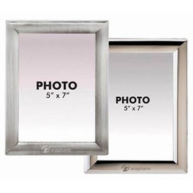 "Metal Photo Frame (5"" x 7"")"