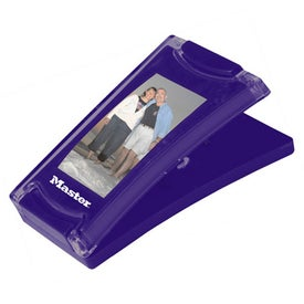 Photo Magnet Clip Imprinted with Your Logo