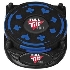 Printed PhotoVision 4 Piece Gambler Coaster Set