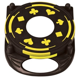 PhotoVision 4 Piece Gambler Coaster Set for your School