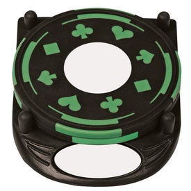 Branded PhotoVision 4 Piece Gambler Coaster Set